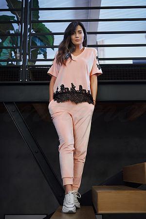 Комплект: футболка и брюки Effetto, Италия 380 фото
