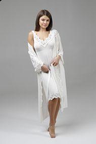 Комплект: халат и сорочка, код 66751, арт 10601C+10602C