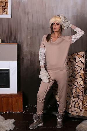 Комплект: пуловер и брюки Effetto, Италия 0362-0363 фото