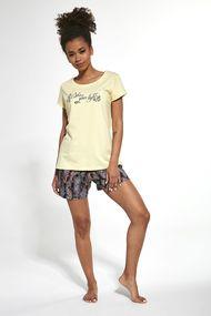 Комлект: футболка, шортики и капри, код 66861, арт 665-20