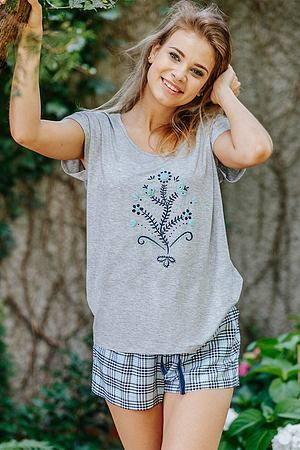 Комплект: футболка и шортики Key, Польша LNS 470 1 A20 фото