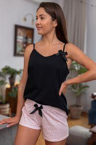 Чёрная пижама, 67470, код 67470, арт Marinela-К