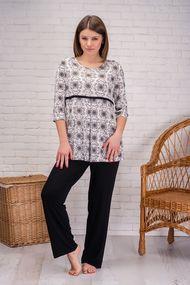 Чёрная пижама, 67943, код 67943, арт 040-11XL