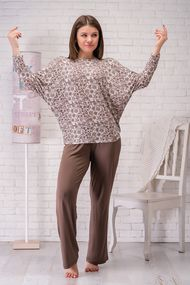 Комплект: джемпер и брюки, код 67964, арт 040-12XL