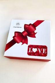 Набір трусиків сліп Love-box (4 шт.), код 68677, арт Valentine box-slip
