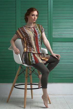 Комплект: блуза и капри Effetto, Италия 123.2 фото
