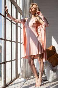 Ночная сорочка женская короткая, 69370, код 69370, арт 100332-Р