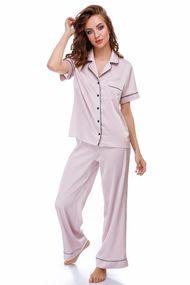 Комплект: блуза та брюки, код 69699, арт Rina
