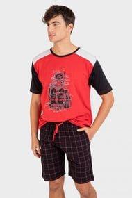 Комплект: футболка і шорти, код 69920, арт P211309