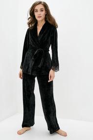 Комплект: халат и брюки, код 70686, арт Sil-127