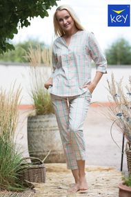 Женские голубые пижамы, 71095, код 71095, арт LNS 452 1 A21