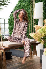 Жіночі піжами на ґудзиках, 71636, код 71636, арт GV-21014