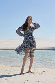 Пляжні халати для повних, 71643, код 71643, арт 20102-P