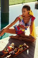 Купальник с мягкой чашкой, плавки бразилиана Anabel Arto 72112