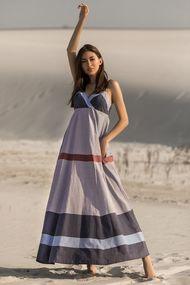 Сукні із завищеною талією для повних, 73035, код 73035, арт 20131-P