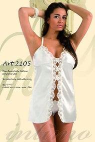 Коротенька сорочка і трусики стрінг, код 8459, арт 2105