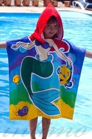 Детское полотенце, код 10363, арт Mermaid