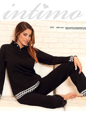Пижама женская, хлопок Si e Lei, Италия UL15 фото