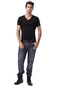 Мужская футболка для придания стройности, код 12717, арт Max-3