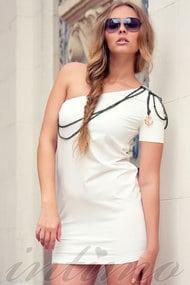 Трикотажное пляжное платье, 15625, код 15625, арт 100111