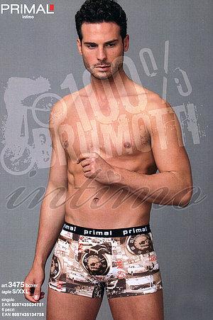 Труси чоловічі boxer, бавовна Primal, Італія 3475 фото