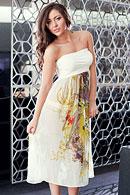 Пляжне плаття-спідниця з шовку Sweetheart 17259