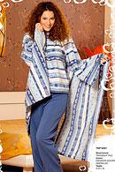 Домашній костюм, плед і домашні чобітки Buccia di mela 18223