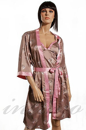 Комплект: халат і сорочка Rose & Petal, Франція RP-JP-31_32 фото