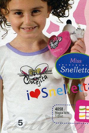 Дитяча футболка, бавовна Snelly, Італія 4058 фото