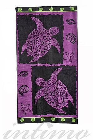 Пляжний рушник La plage, Франція Turtle Purple фото