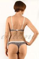 Комплект белья: бюстгальтер push-up и трусики стринг Lida 20426 - фото №2