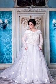 Свадебное платье, код 41302, арт Briley