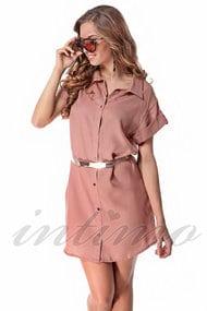 Платье, тенсел, код 47298, арт 500109-Р