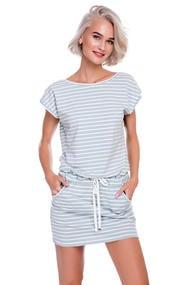 Платье, хлопок, код 53375, арт 18031-P