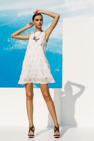 Платье, хлопок, код 53641, арт 18017-P