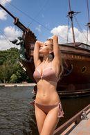 Купальник двойной push up gel, плавки бразилиана раздельный Lormar 55100 - фото №1