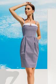 Платье, хлопок, код 55995, арт 18012-Р