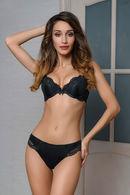 Комплект белья: бюстгальтер push-up gel и трусики бразилиана Dimanche Lingerie 56696 - фото №1