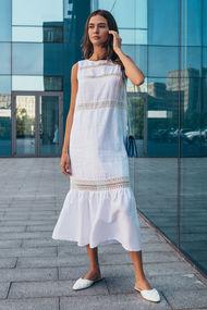 Белые платья в пол, 57431, код 57431, арт GV-00023