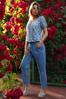 Комплект: блуза и брюки German Volf 57829 - фото №10