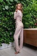 Комплект: халат та брюки Lormar 59517 - фото №1