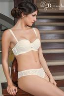 Комплект белья: бюстгальтер балконет push up и трусики слип Dimanche Lingerie 61077 - фото №6