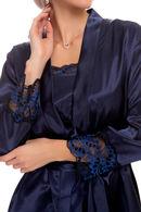 Халат и сорочка, шёлк Fleri 61282 - фото №3