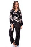 Комплект: халат и брюки Silence 63252 - фото №2