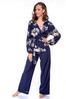 Комплект: халат и брюки Silence 63252 - фото №8