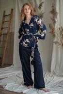 Комплект: халат и брюки Silence 63252 - фото №6