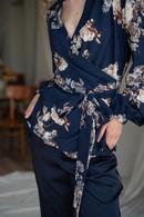 Комплект: халат и брюки Silence 63252 - фото №7