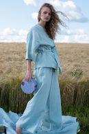 Комплект: халат и брюки Silence 66104 - фото №2