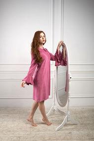 Халат розовый, 67297, код 67297, арт 509