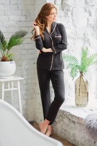 Чёрная пижама, 69354, код 69354, арт 100508-Р